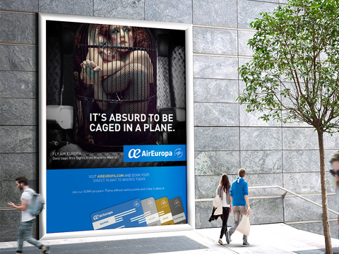 Air Europa Mall Advertising