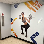 Interior Wall Gym