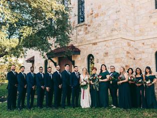 Liz & John's Greek Orthodox Wedding in Austin, Texas