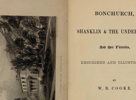Bonchurch, Shanklin and the Undercliff and their vicinities. W.B.Cooke