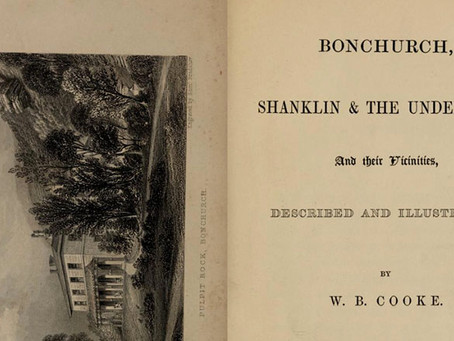 Bonchurch, Shanklin and the Undercliff and their vicinities. W.B.Cooke 1849