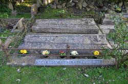 Algernon Swinburne's grave