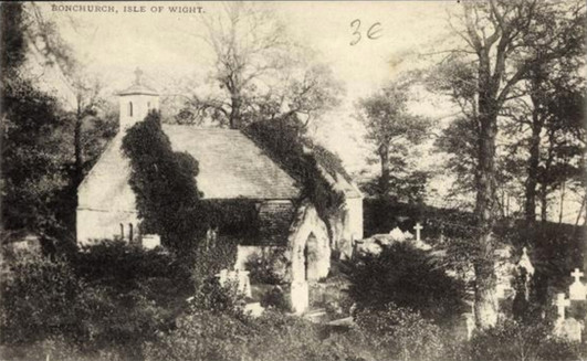 Bonchurch old church when decomissioned.