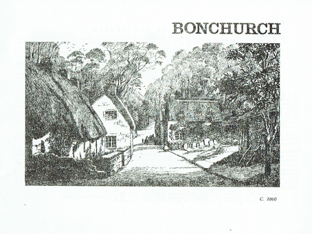 1729 Maps of Bonchurch researched by Peter Brett