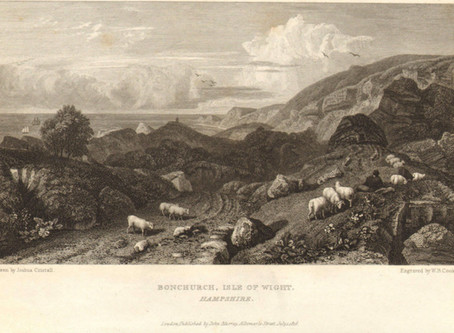 The Picturesque Views on The Southern Coast (Bonchurch & The Under-Way) 1826