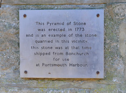 pyramid stone close up