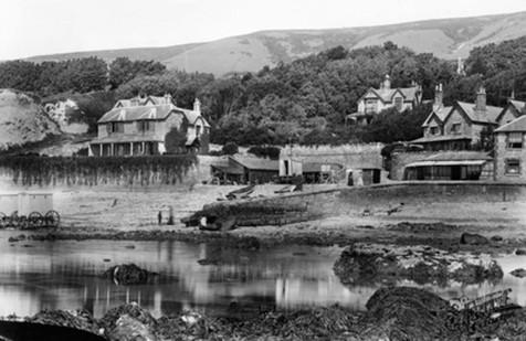 1893 Bonchurch shore