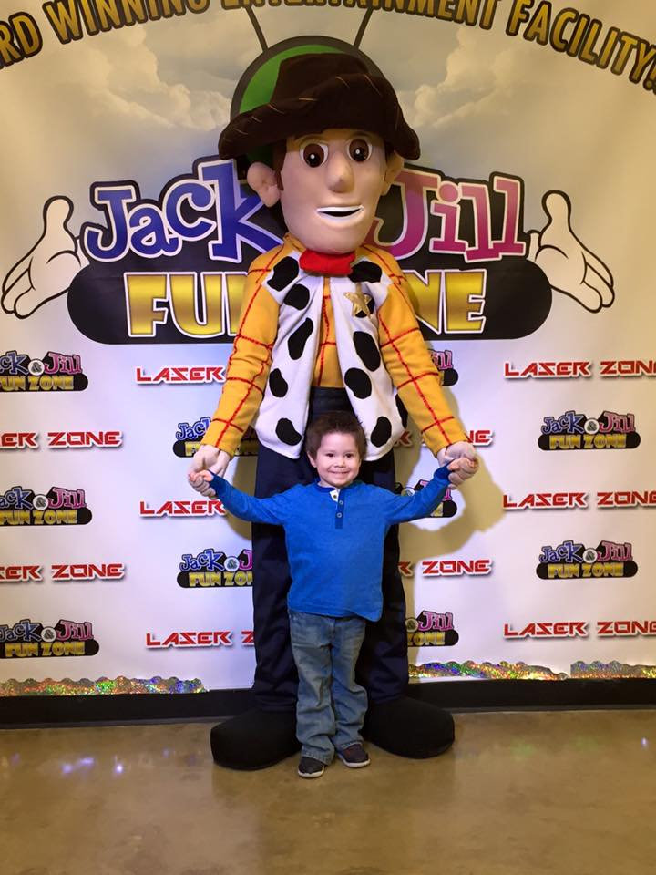 Mascot Add On (For Party at Jack & Jill)