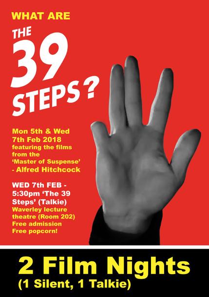 THE 39 STEPS LEAFLET