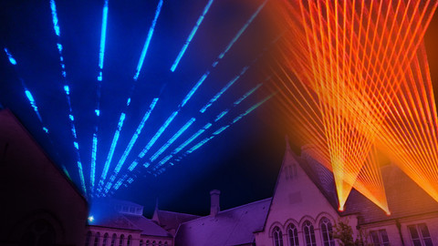 LASER SHOW OPENING