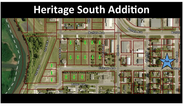 Heritage South Addition GIS Map 03 29 21