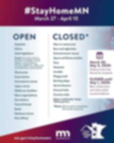 StayHomeMN Open Closed Flyer 03 27 20-04