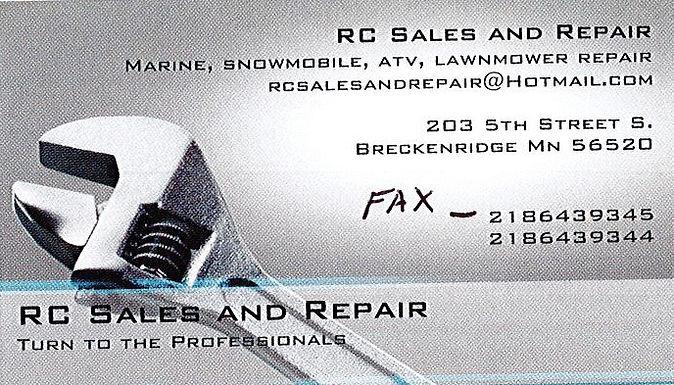 RC Sales and Repair