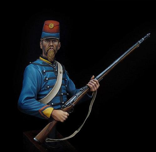 1/9th Chasseur d'Afrique 1870 Bust