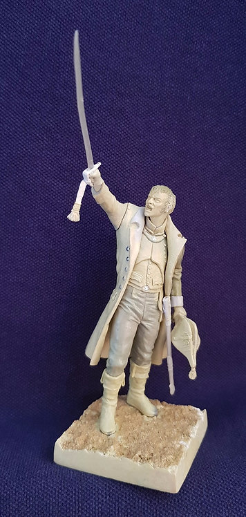 75mm French Officer Of The Old Guard 1805
