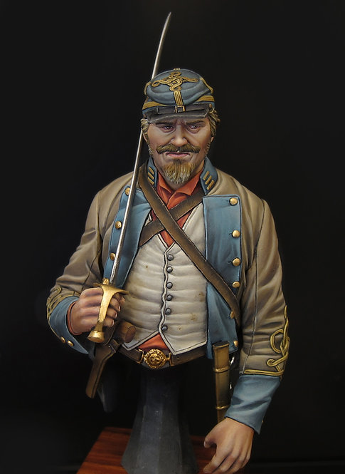 Confederate Officer 1864