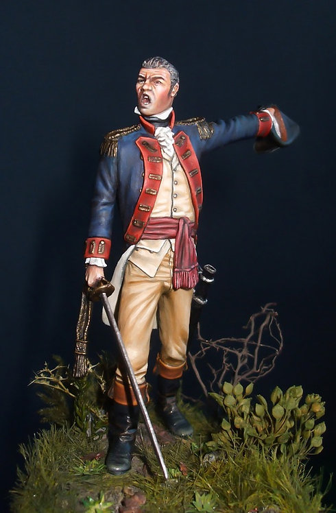 American War of Independence Officer 1781