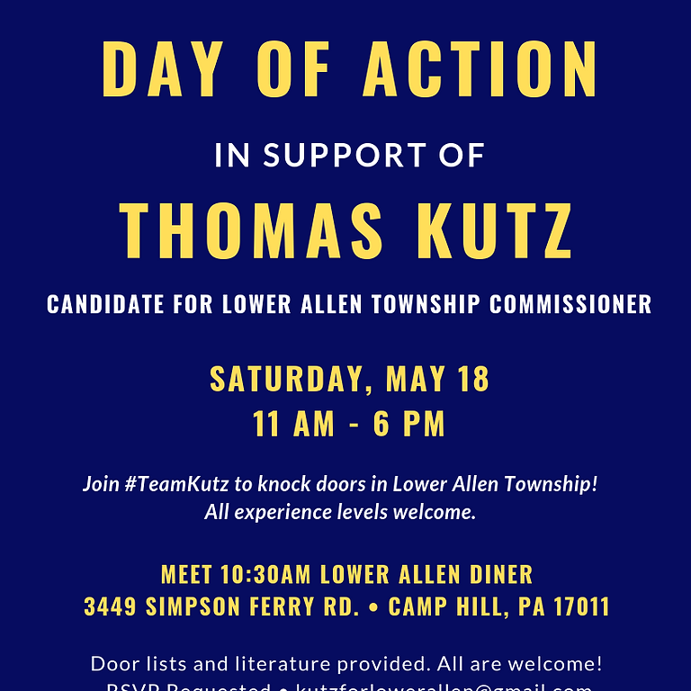 Team Kutz Day of Action