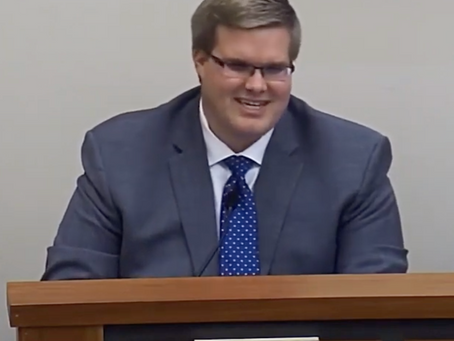 Thomas Kutz Gives Commissioner's Report at Jan. 27 Meeting