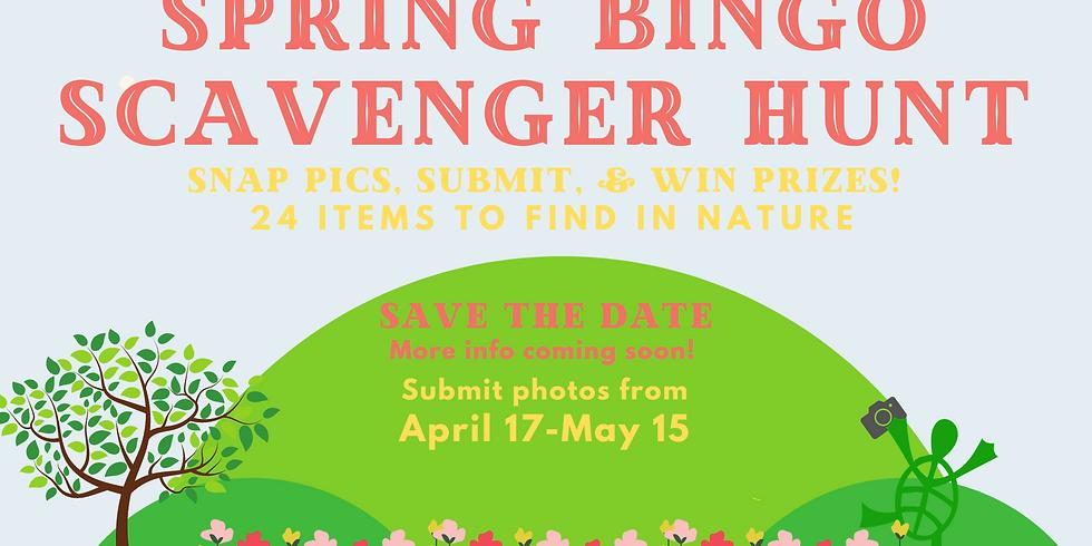 Spring Bingo Scavenger Hunt!