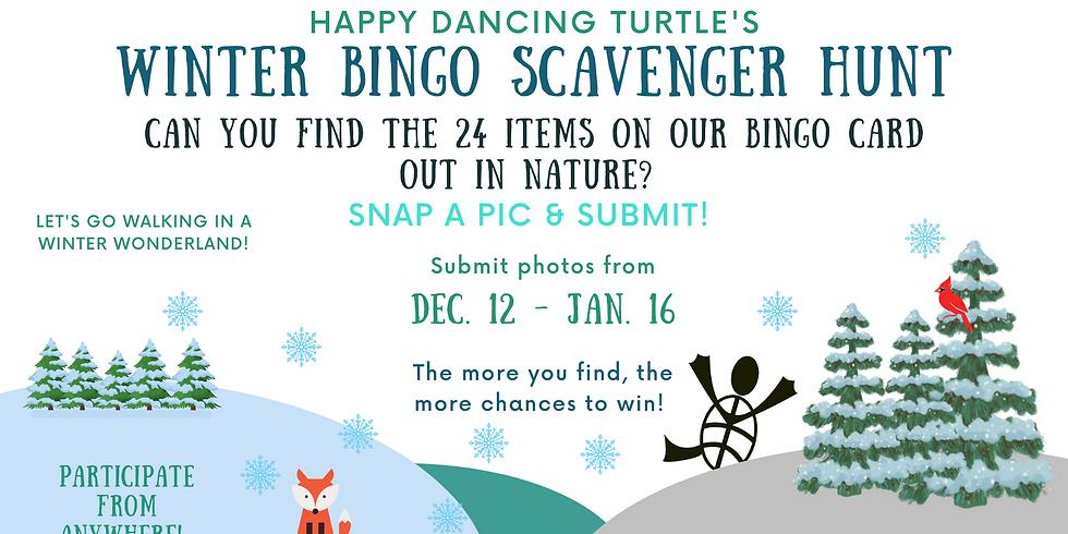 Winter Bingo Scavenger Hunt!