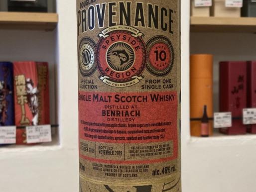ベン リアック10年 - BENRIACH 10 YEAR Douglas Laing's Provenance