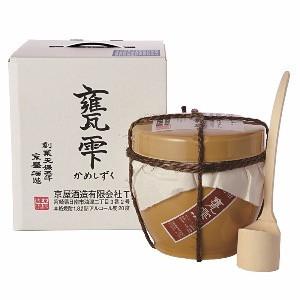 芋焼酎 甕雫(かめしずく)