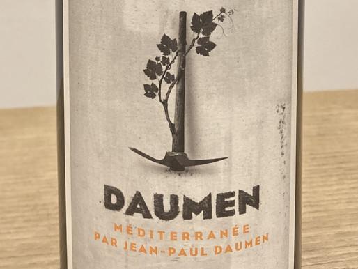 「つるはし」を描いたラベル - タンニン豊かでふくよかなナチュール赤ワイン