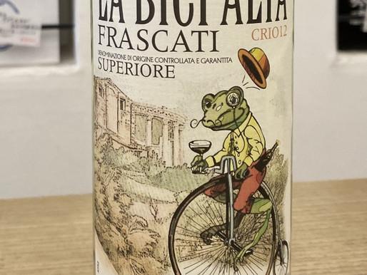 カエルのフラスカーティ - 香りのある辛口白ワイン