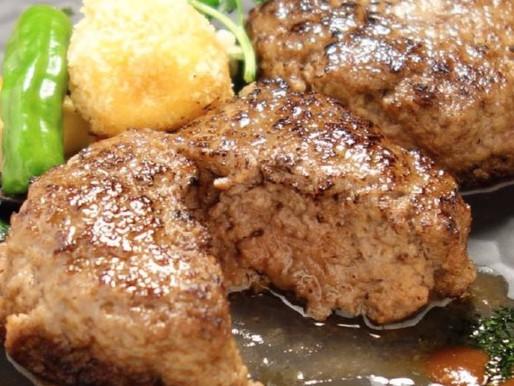 簡単、美味しい夕ご飯。あか牛ハンバーグ入荷しました