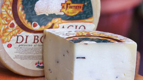 9/16(木) チーズ入荷しました - トリュフ香るイタリアチーズほか