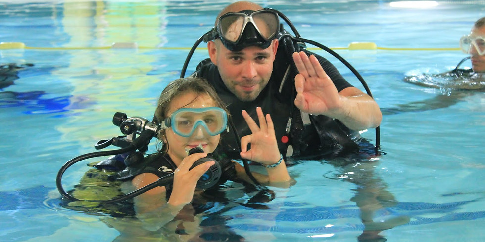 Bapteme de plongée piscine 2ème séance 2019