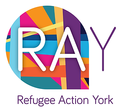 Logo of Refugee Action York (RAY)