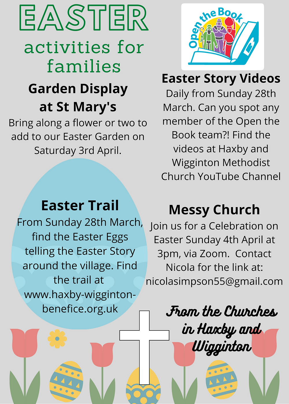 Easter Activities for Families poster
