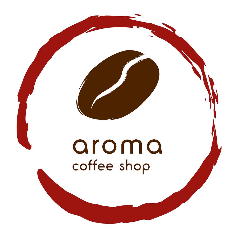 Aroma Coffee Shop logo