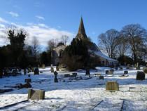 Huntington Church graveyard