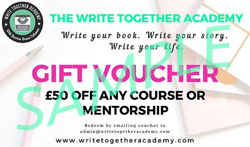 £50 WTA Gift Voucher