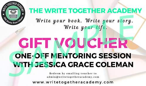 One-off Mentoring Session with Jessica Grace Coleman Gift Voucher