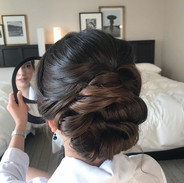Bridal Updo hairstyle for my #sfcityhall
