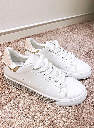 Sneakers med simili