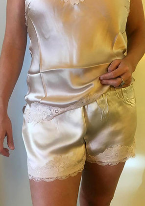 Gold Hawk shorts lys beige - Linen