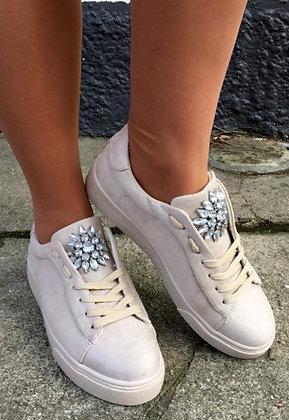 Sneakers sko - beige