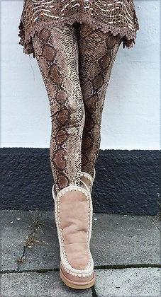 Snake Leggings brun