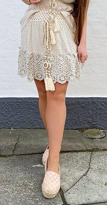Goldie nederdel - beige
