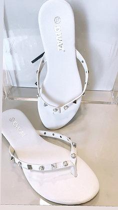 Vaca sandal - hvid