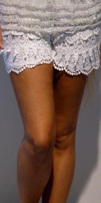 Blonde shorts - hvid