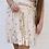 Thumbnail: Shiny gold nederdel - beige