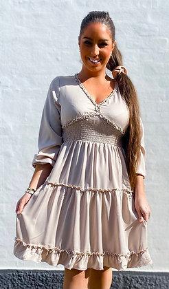 Trille dress - beige