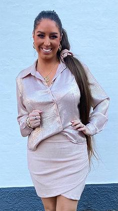 Shiny skjorte - rosa