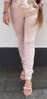 Rosa buks med stræk - rosa